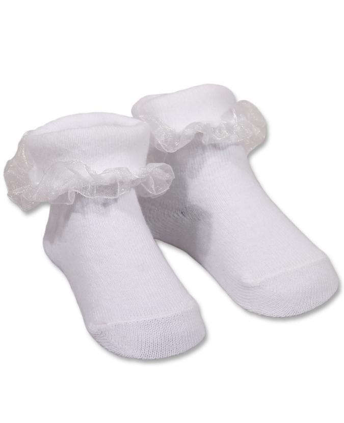 e1f220c8455 Kojenecké ponožky Trepon Jůlinka -bílé - 13-15 cm