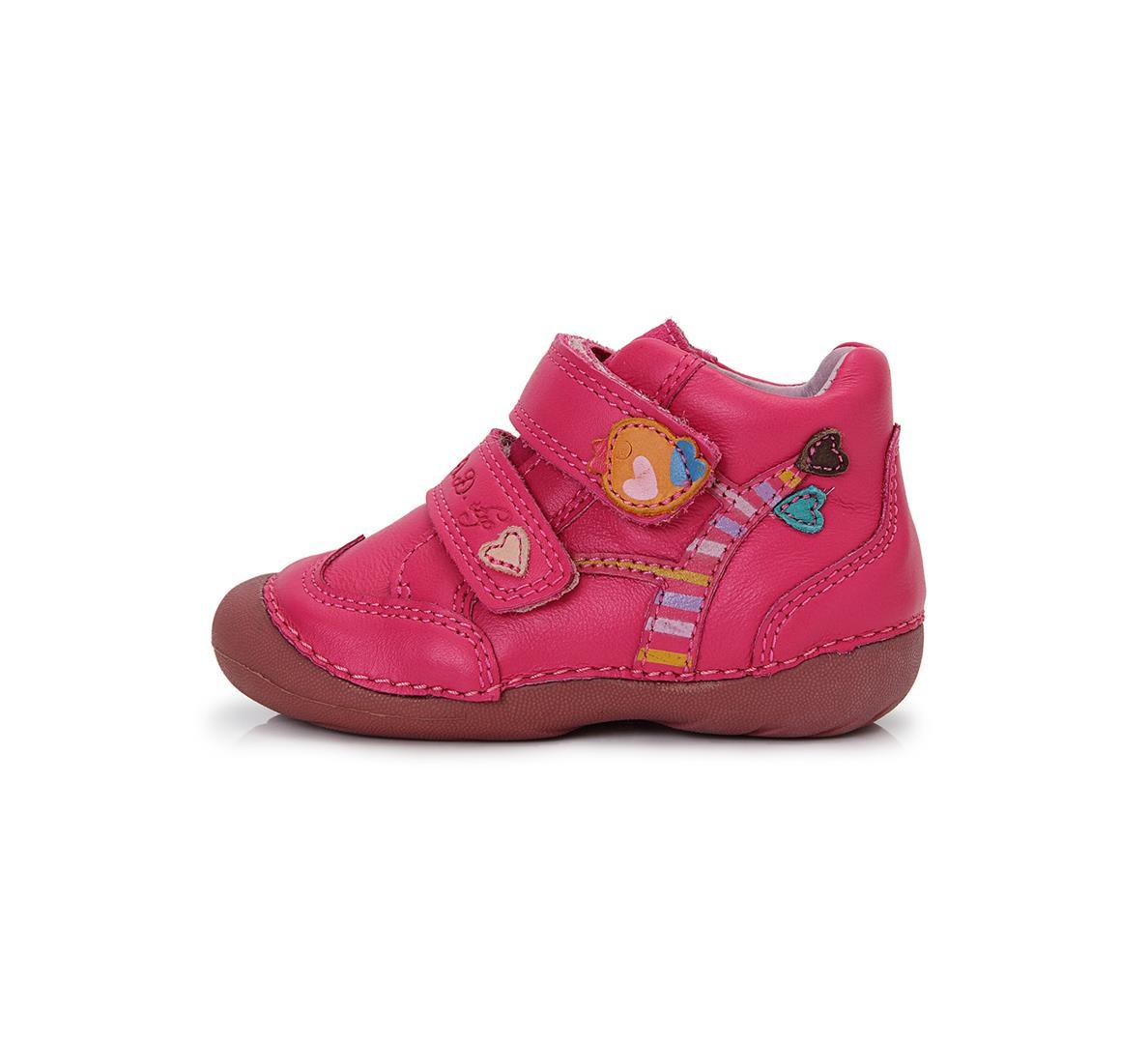0116f99bd8e Celoroční obuv 015-133C tm.růžové-vel.22