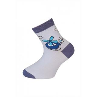 83e2db8c2ee03 Kojenecké ponožky TREPON-Letadlo modré - vel.19-21