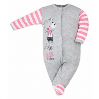Bobas Fashion overal Perfect baby - růžový - vel.62vel.62